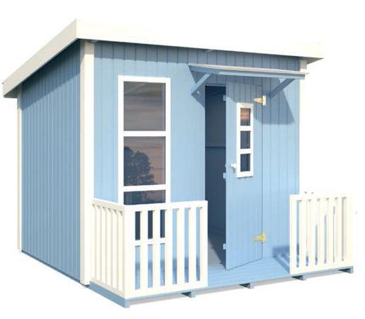 Casas de madera modelo harry de 1 99 x 1 63 2 23 for Casetas de jardin economicas