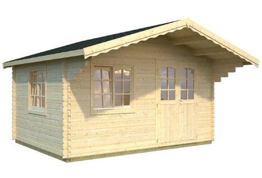 Casas de madera modelo jessica de 5 30 x 4 10 for Casetas de jardin economicas