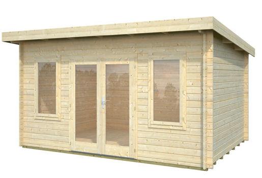 Casas de madera modelo jody de 4 70 x 3 50 for Casetas de jardin economicas