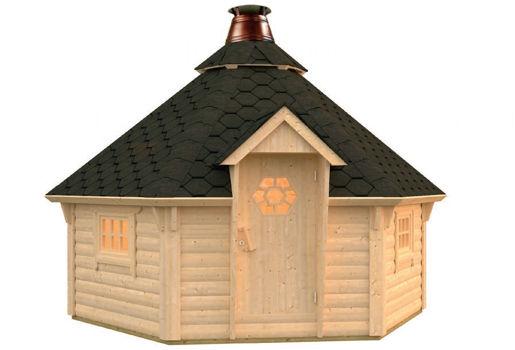 Casas de madera modelo kim de 3 26 for Casetas de jardin economicas
