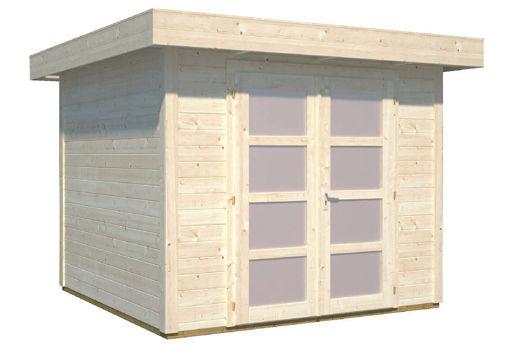 Casas de madera modelo lara 1 de 2 50 x 2 50 for Casetas de jardin economicas