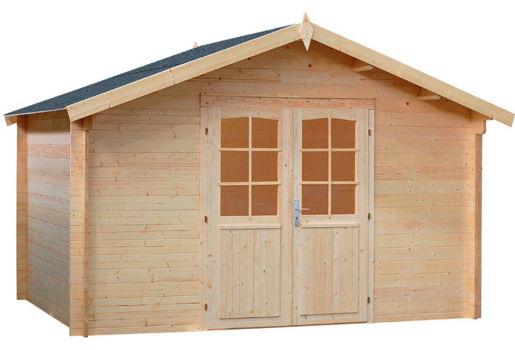 Casas de madera modelo le mans de 4 00 x 4 00 - Caseta jardin madera ...