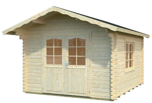 Casas de madera modelo lilian de 3 20 x 3 80 for Casetas de jardin economicas