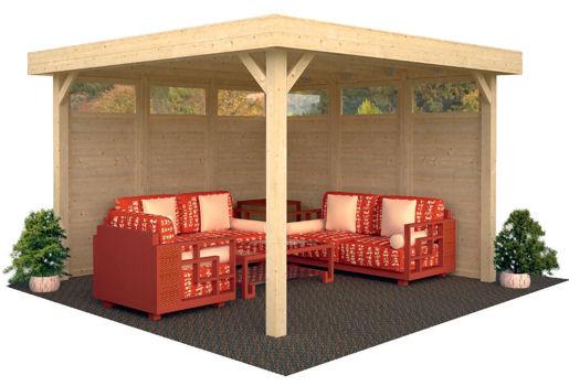 Casas de madera modelo lucy de 3 49 x 3 49 for Casetas de jardin economicas