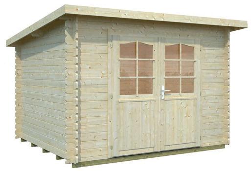 Casas de madera modelo mary de 2 90 x 2 60 for Casetas de jardin economicas