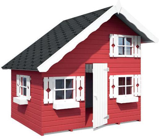 Casas de madera modelo tom de 2 20 x 1 80 for Casetas de jardin economicas