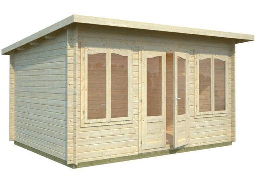 Casas de madera modelo zoey de 4 20 x 3 20 for Casetas de jardin economicas