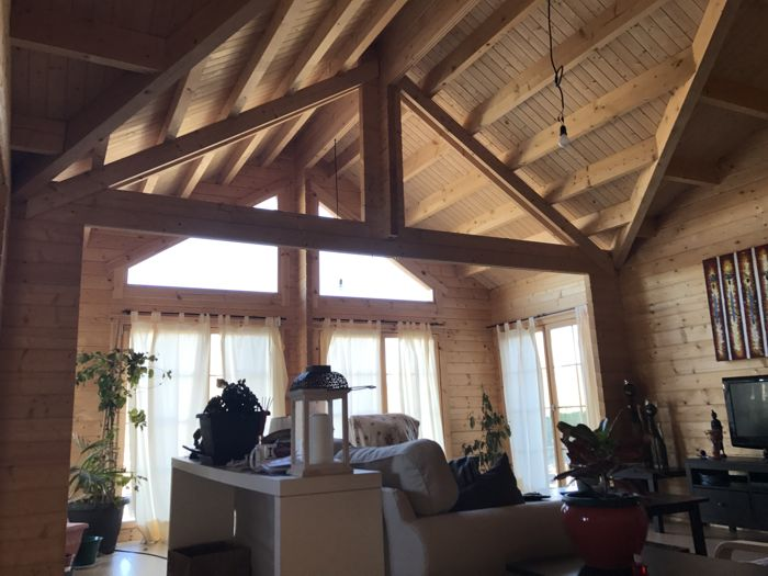 Fotos Interiores de Madera Natural