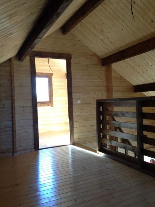 Casas de madera modelo bola os ii de 95 m2 c buhardilla - Buhardillas de madera ...