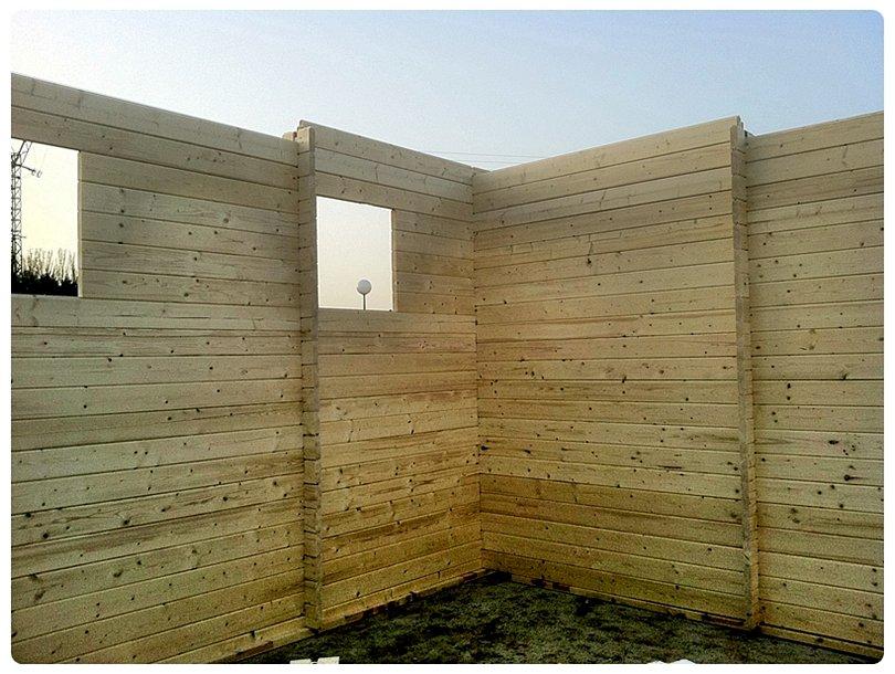 Montage y acabados casas de madera en tenerife y mas for Paredes prefabricadas
