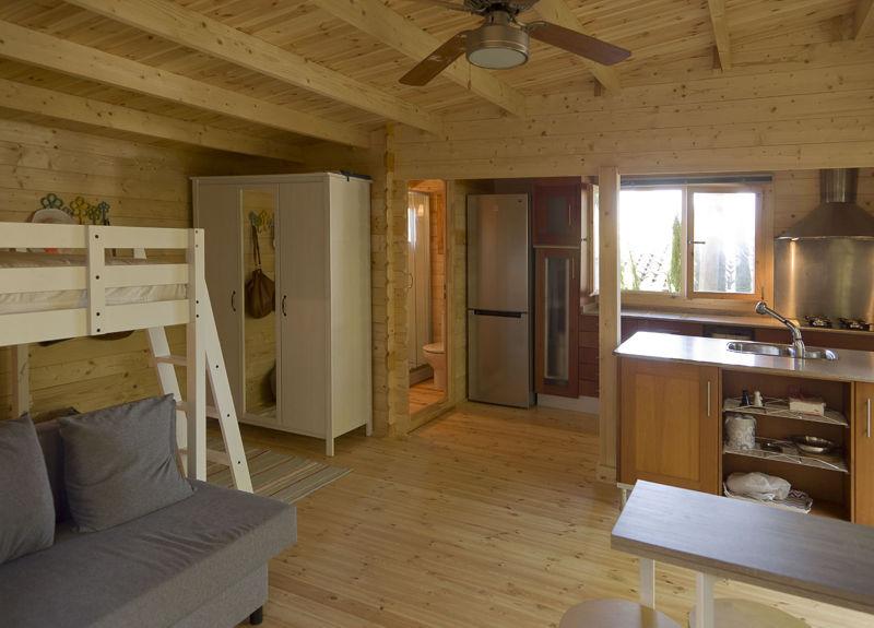 Proceso de montaje de heidi 30 m2 gand a - Casas de madera gandia ...